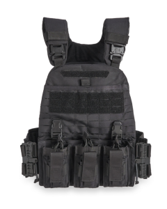 Guard Dog Tactical Pitbull Plate Carrier | 2 Lbs/Per - Black