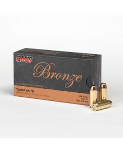 PMC Bronze 10mm Handgun Ammo - 200 | FMJ-TC | 50rd Box
