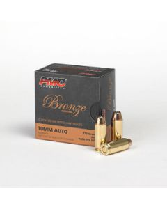PMC Bronze 10mm Handgun Ammo - 170 Grain | JHP| 25rd Box