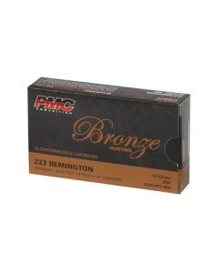 PMC Bronze .223 Remington Rifle Ammo - 55 Grain | SP | 20rd Box