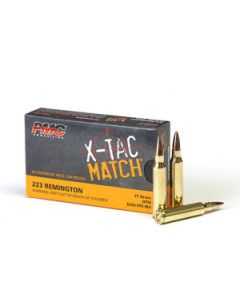 PMC X-TAC Match .223 Remington Rifle Ammo - 77 Grain | OTM | 20rd Box