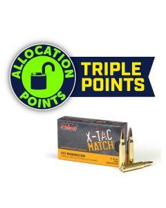 PMC X-TAC Match .223 Remington Rifle Ammo - 77 Grain | OTM | 20rd Box
