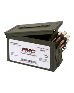 PMC Bronze .50 BMG Rifle Ammo - 660 Grain | FMJ-BT | 100rd Ammo Can