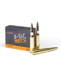 PMC X-TAC Match .50 BMG Rifle Ammo - 740 Grain | Solid Brass | 10rd Box
