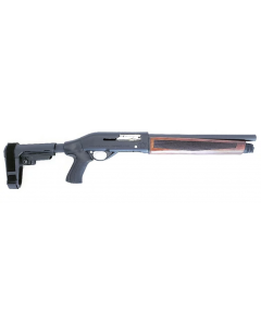 "Black Aces Tactical Pro Series S Semi-Auto Shotgun - Walnut | 12ga | 14"" Barrel 
