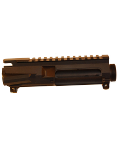 R Guns Stripped AR A3 Forged Aluminum Upper Receiver - Black   Fits AR-15, M-16