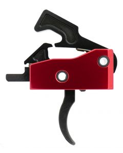 Tactical Superiority Curved Drop-In Trigger | Red