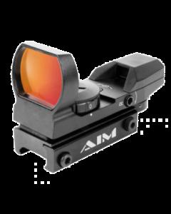Aim Sports Classic Edition Reflex Sight - Black | 1x34mm | 4 Reticle Patterns
