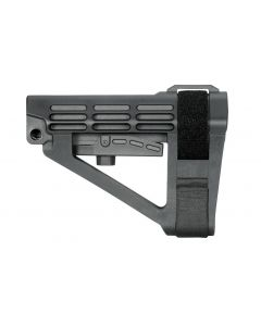 SB Tactical SBA4 Pistol Stabilizing Brace - Black | No Tube | Bulk Packaging for OEM Use