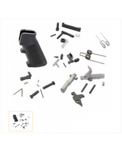 Anderson AR15 Lower Parts Kit - Black | Premium
