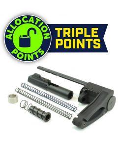 Dead Foot Arms SCW 2.5 Tailhook Pistol Brace - Black | For 9mm AR-15