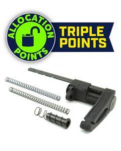 Dead Foot Arms SCW 4 Tailhook Pistol Brace - Black | For 9mm AR-15
