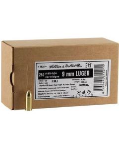 Sellier & Bellot 9mm Luger Handgun Ammo - 124 Grain | FMJ | 250rd Box
