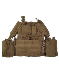 Guard Dog Tactical Sheppard Plate Carrier | 2 Lbs/Per - FDE