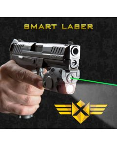 XTech Tactical Smart Laser - Green | Sensor Activated