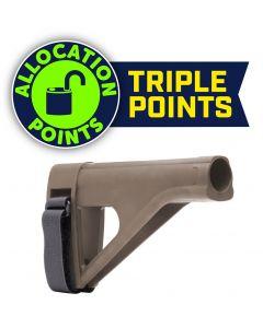 SB Tactical SOB Pistol Stabilizing Brace - FDE | AR Buffer Tube Compatible