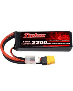 Typhon 2200mAh 11.1V 30C 3 cell Battery for the XM42