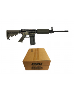 "R Guns TRR15 Forged AR15 Rifle - Tiger Stripe Camo| 5.56NATO | 16"" Barrel 