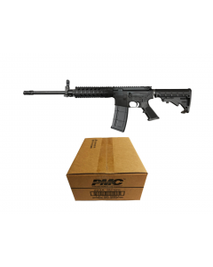 "R Guns TRR15 Forged AR15 Rifle - Black | 5.56NATO | 16"" Barrel 
