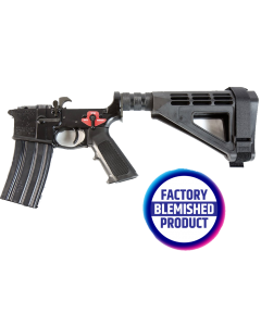 FACTORY BLEM - Franklin Armory BFSIII Equipped PISTOL Complete AR15 Pistol Lower Receiver - Black | Installed BSFIII Trigger | SBM4 Brace | BLEMISHED, sold As-Is NO RETURNS