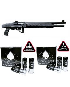 "Black Aces Tactical Pro Series X Semi-Auto Shotgun - Black | 12ga | 18.5"" & 24"" Barrel 