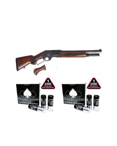"Black Aces Tactical Pro Series L Lever Action Shotgun - Black | 12ga | 18.5"" Barrel 