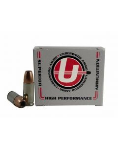 Underwood Ammo 9mm Luger Handgun Ammo - 147 Grain | +P+ | Bonded Jacketed Hollow Point | 20rd Box
