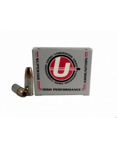 Underwood Ammo 9mm Luger Handgun Ammo - 124 Grain | +P | Bonded Jacketed Hollow Point