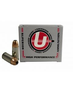 Underwood Ammo 9mm Luger Handgun Ammo - 147 Grain | +P | Jacketed Hollow Point