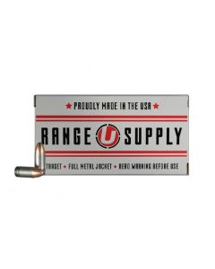 Underwood Ammo Range Supply 9mm Luger Handgun Ammo - 147 Grain | FMJ | 50rd box