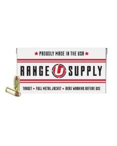 Underwood Ammo Range Supply 10mm Auto Handgun Ammo - 180 Grain | FMJ
