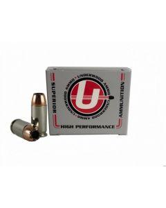 Underwood Ammo .45 ACP Handgun Ammo - 185 Grain | +P | Bonded Jacketed Hollow Point
