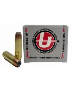 Underwood Ammo .50 Beowulf Rifle Ammo - 325 Grain | Bonded Jacketed Hollow Point