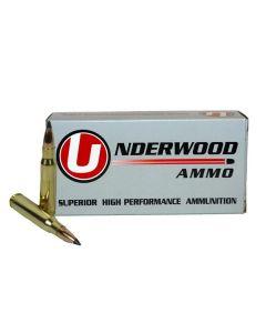 Underwood Ammo .308 Winchester Match Grade Rifle Ammo - 110 Grain | Nosler Varmageddon | 20rd Box