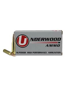 Underwood Ammo .308 Winchester Match Grade Rifle Ammo - 150 Grain | Nosler AccuBond Spitzer | 20rd Box