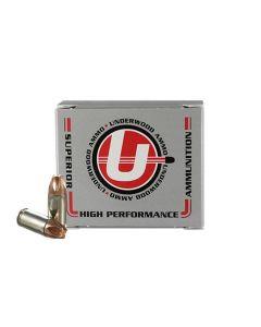 Underwood Ammo 9mm Luger Handgun Ammo - 90 Grain | +P+ | Xtreme Defender | 20rd Box