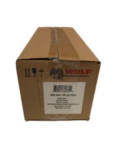 Wolf Steel Case .308Win Rifle Ammo - 150 Grain | FMJ | 500rd Case