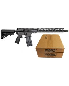 "Battle Arms Development Forged WORKHORSE AR15 Rifle - Black | 5.56NATO | 16"" Barrel 