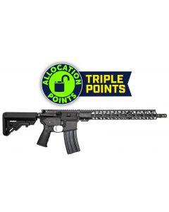 "Battle Arms Development Forged WORKHORSE AR15 Rifle - Black | 5.56NATO | 16"" Barrel | 15"" M-LOK Free-Float Rail | Mil-Spec Charging Handle | B5 Stock | Nickel Teflon Trigger"