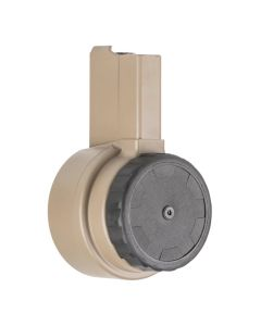 X Products X-15 50 Round Drum Magazine for AR-15 & M16 - FDE
