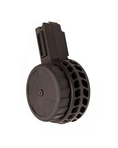 X Products X-CZ-9 CZ Scorpion 9mm 50 round Drum Magazine - Black | Skeletonized