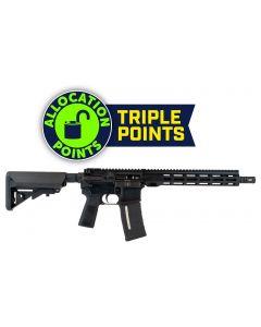 "IWI ZION Z-15 AR SBR - Black | 5.56NATO | 12.5"" Barrel | 11.5"" Free Float M-LOK Rail | BCM Pistol Grip | B5 Stock"