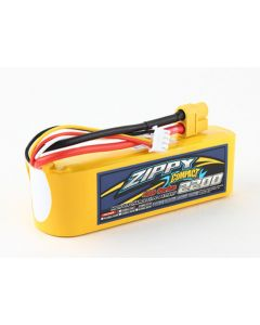 ZIPPY Compact 2200mAh 3s 40c Lipo Pack - For XM42 Series Flamethrowers