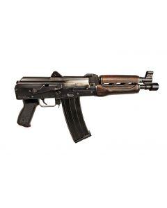 "Zastava ZPAP85 AK-47 Pistol - Stained Wood Handguard | 5.56NATO | 10"" Barrel"