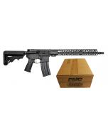 "Battle Arms Development Forged WORKHORSE AR15 Rifle - Black | 5.56NATO | 16"" Barrel | 15"" M-LOK Free-Float Rail | B5 Stock | Nickel Teflon Trigger Bundled w/ PMC Bronze .223 Remington Rifle Ammo - 55 Grain | FMJ-BT | 1 Case (50 )"