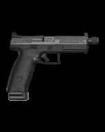 "CZ P-10 F Pistol - Black | 9mm | 5.11"" Threaded Barrel | 21rd | Night Sights | Suppressor-Ready"