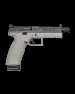 "CZ P-10 F Pistol - Urban Grey | 9mm | 5.11"" Threaded Barrel | Night Sights | Suppressor-Ready"