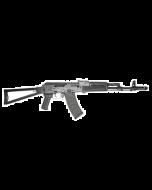 "Riley Defense RAK47 AK-47 Rifle - Black   7.62x39   16"" Barrel   Polymer Furniture   Folding Stock"