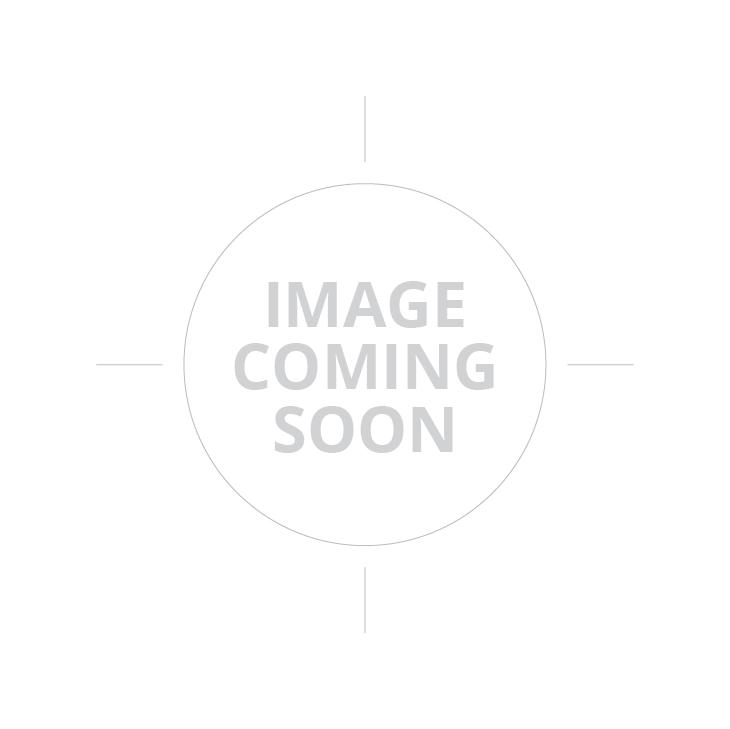 "Dan Wesson DWX Pistol - Black | 9mm | 5"" Barrel | 19rd | Fiber Optic Front Sight | Red Grips"