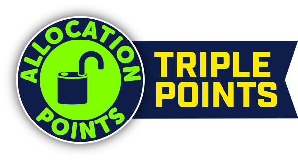 Triple Allocation Points